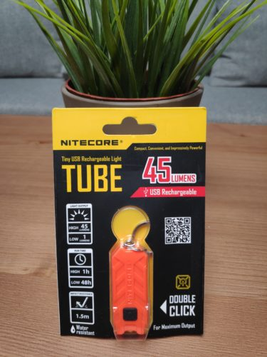 Nitecore Tube packaging front side