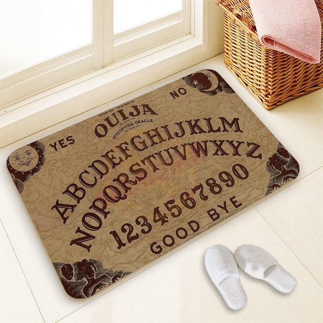 Ouija Board door mat