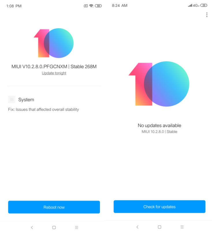 Redmi Note 7 MIUI 10