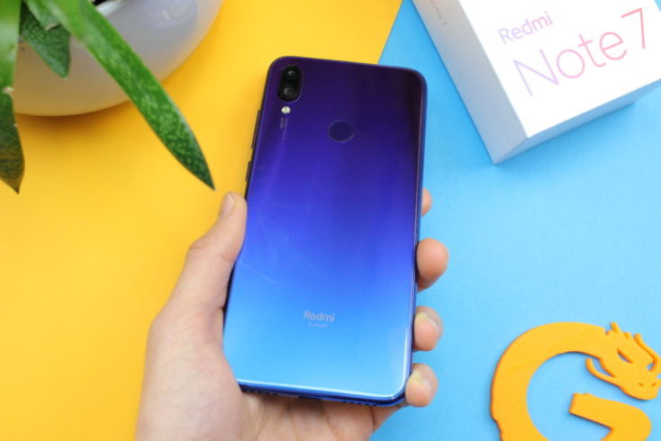 Redmi Note 7 Rear Blue