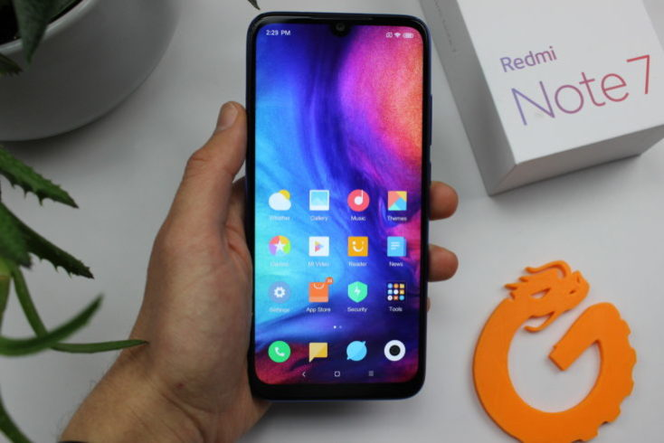 Redmi Note 7 Smartphone Display