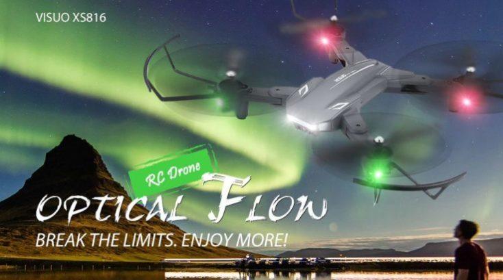 Tianqu Visuo XS816 drone Optical Flow
