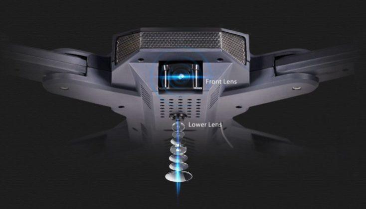 Tianqu Visuo XS816 drone cameras