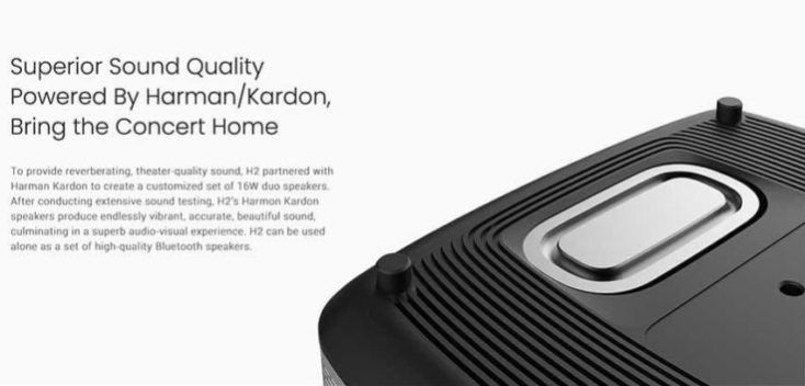 XGIMI H2 Beamer Loudspeaker