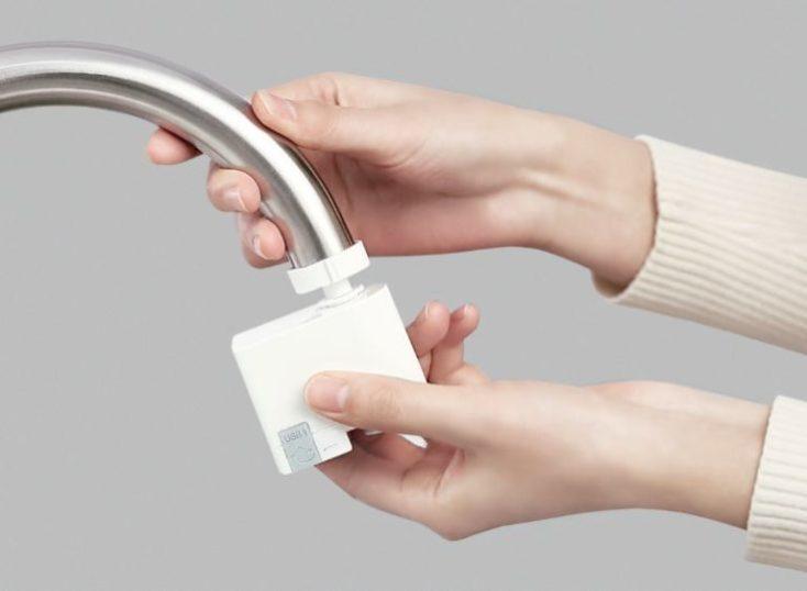 Xiaomi Zajia tap adapter installation