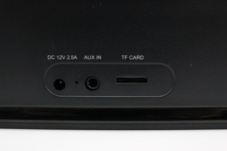 Doss SoundBox XL Connectors Rear Panel