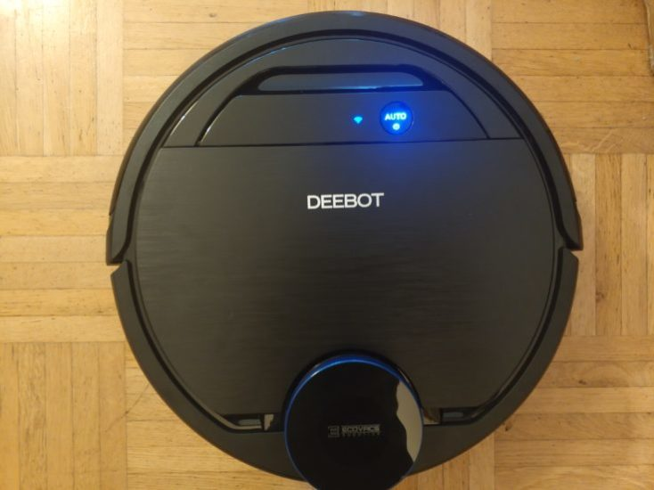 ECOVACS DEEBOT OZMO 930 vacuum Robot Design