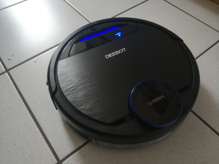 ECOVACS DEEBOT OZMO 930 vacuum robot Surface detection