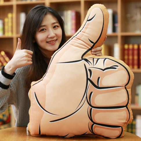 Gesture Cushion Thumb