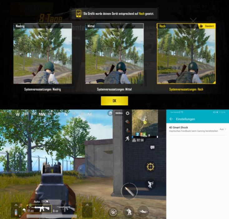 Honor Play Gaming PUBG Smart Shock