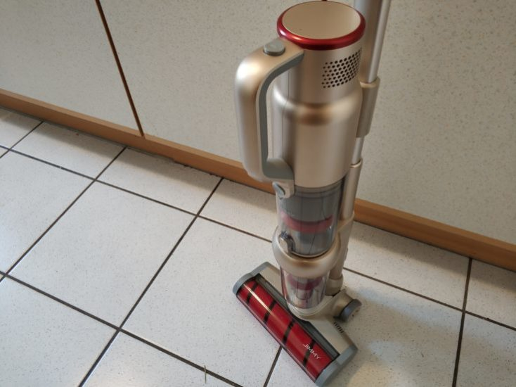 Lexy Jimmy JV71 Battery Vacuum Cleaner Dimensions