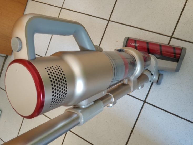 Lexy Jimmy JV71 Battery Vacuum Cleaner Use