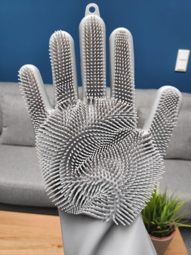 Silicone dishwasher gloves right hand