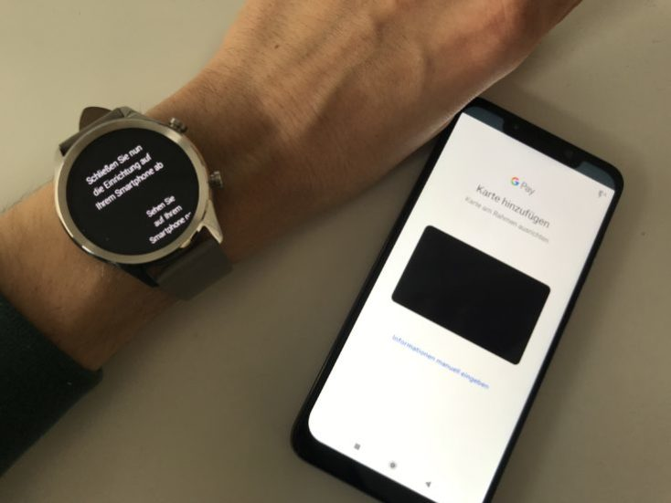 Ticwatch C2 NFC Google Pay