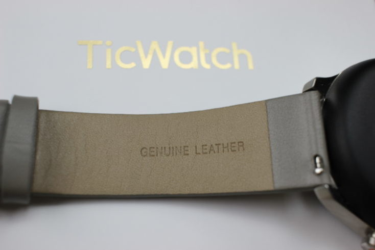 Ticwatch C2 Smartwatch Leather Bracelet