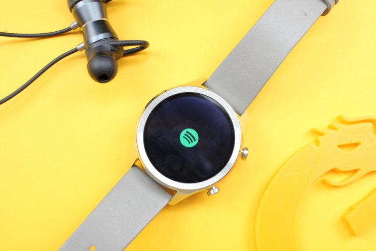 Ticwatch C2 Smartwatch Spotify
