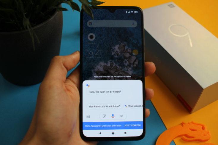 Xiaomi Mi 9 Google Assistant