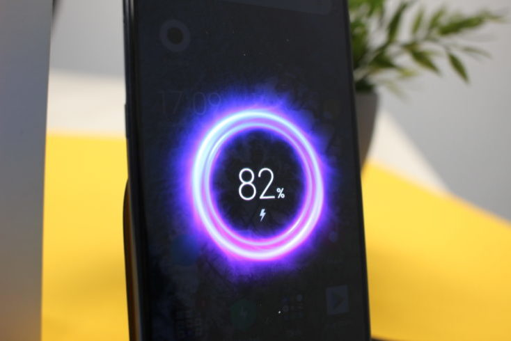 Xiaomi Mi 9 Qi Charging Animation