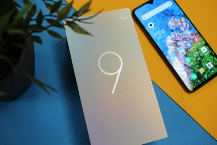 Xiaomi Mi 9 packaging