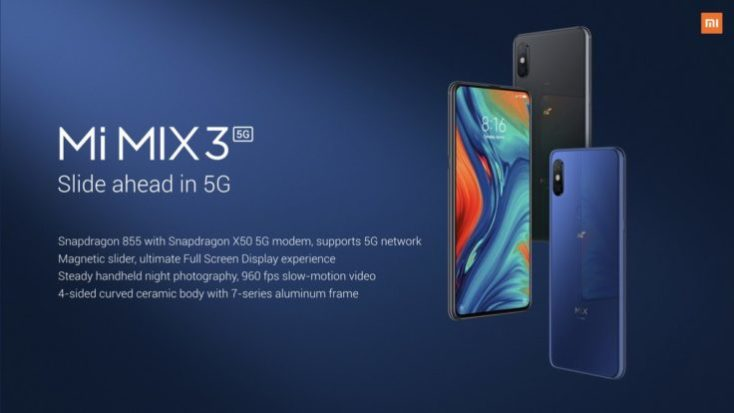 Xiaomi Mi Mix 3 5G Colors
