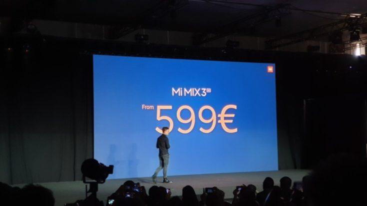 Xiaomi Mi Mix 3 5G Price
