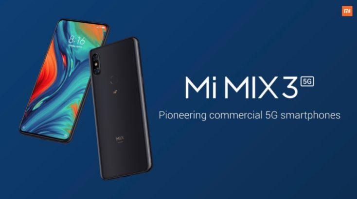 Xiaomi Mi Mix 3 5G Smartphone