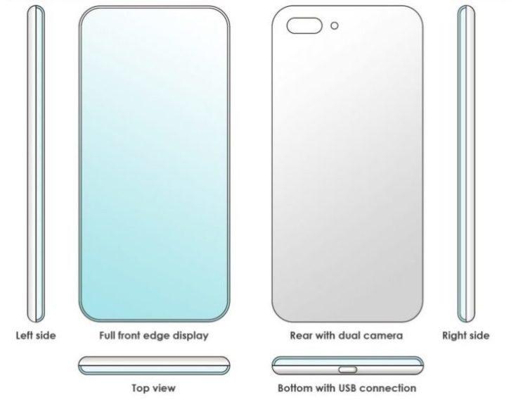 Xiaomi Smartphone Quad-Edge Display Patent