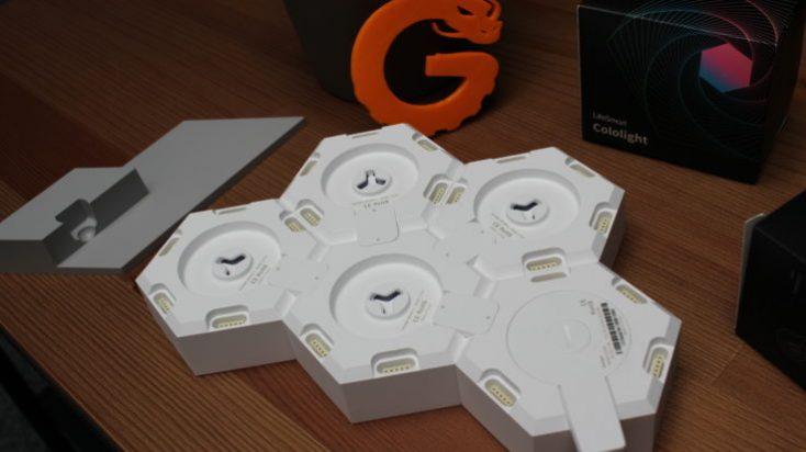 Cololight LED lights back side