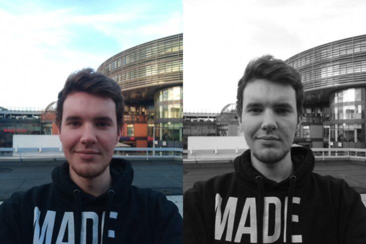 Elephone A5 Selfies