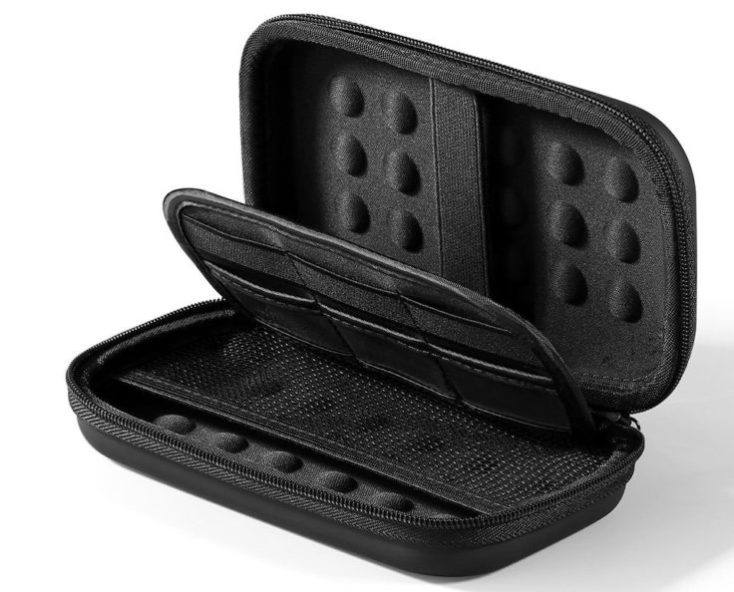 hard drive case black empty