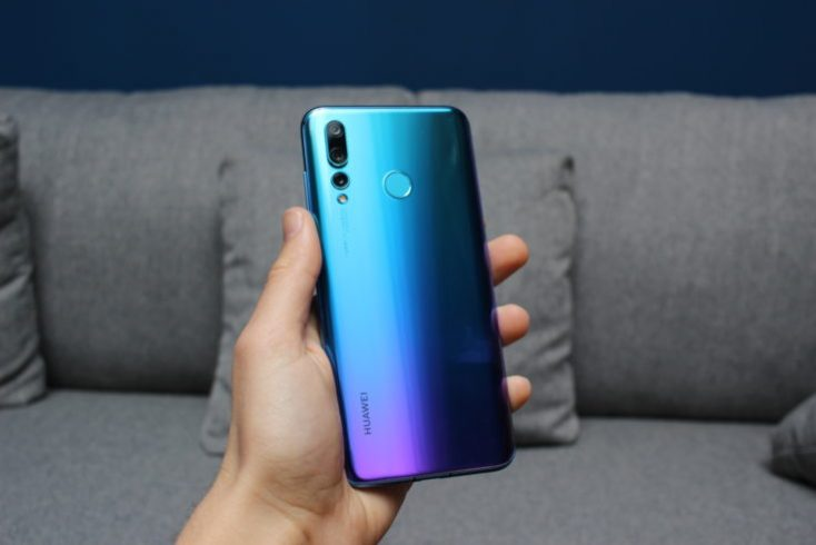 Huawei Nova 4 Backside