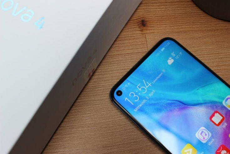Huawei Nova 4 In-Display Camera