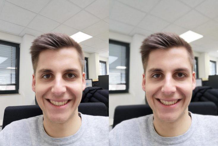 Huawei Nova 4 test photo front camera portrait comparison