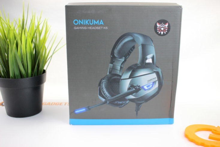 Orikuma K5 Gaming Headset Packaging