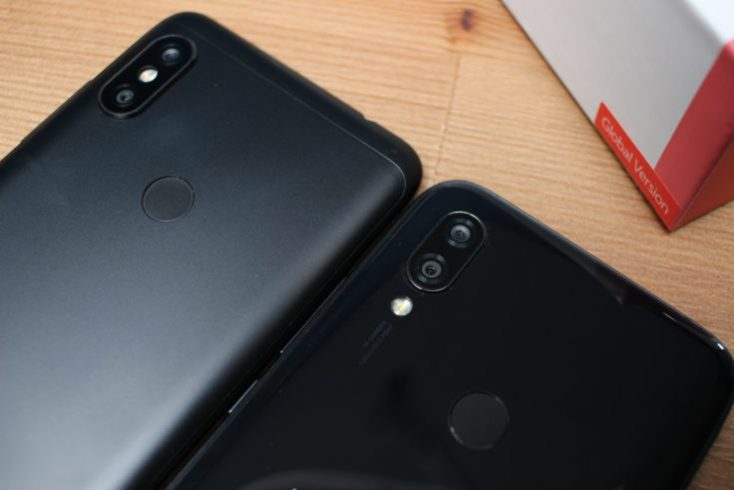 Redmi 7 Smartphone Back Comparison