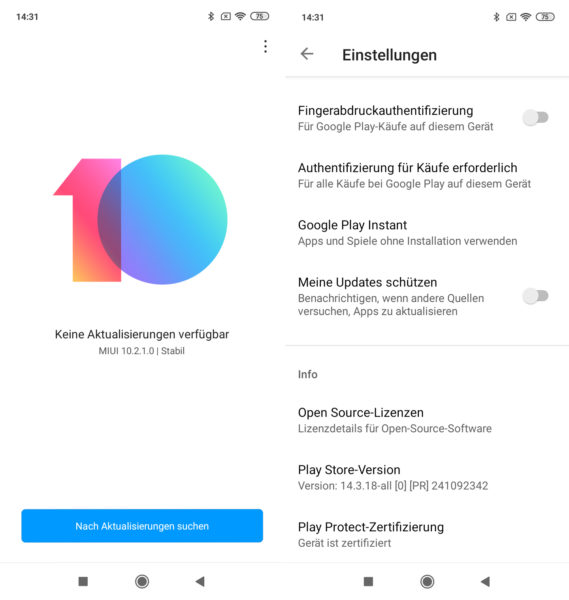 Redmi 7 Smartphone MIUI 10 Software