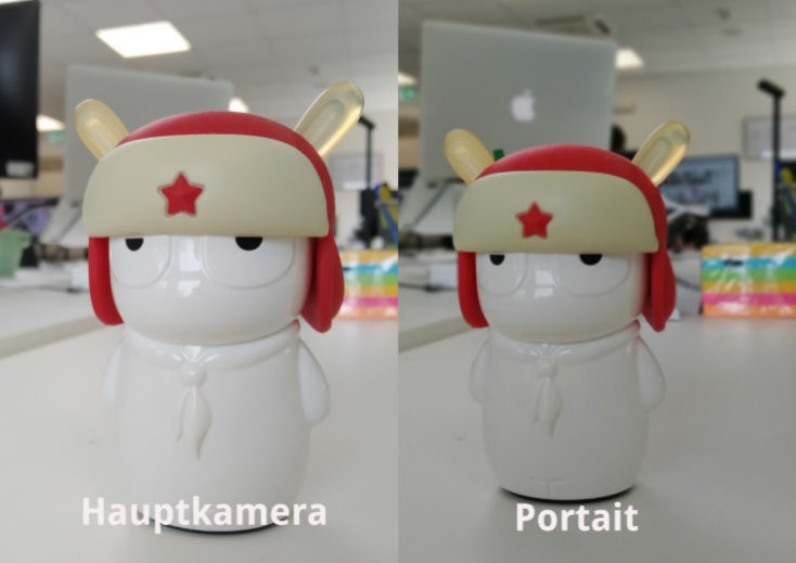 Redmi 7 test photo main camera object portrait comparison