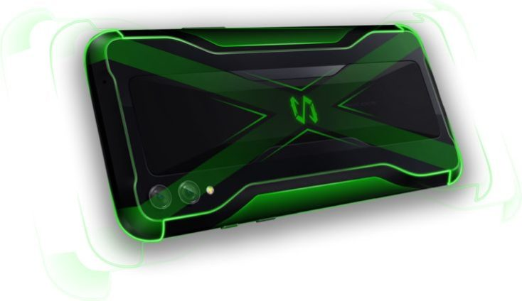 Xiaomi Black Shark 2 back side