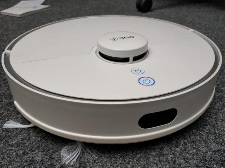 360 S5 Vacuum robot deployment