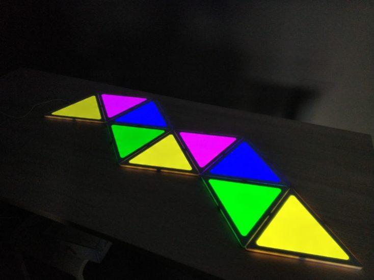 Alfawise A9 DIY LEDs Colors