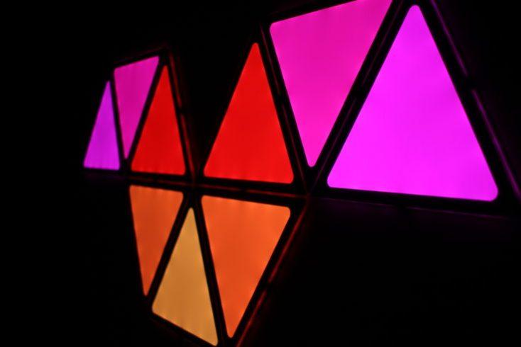 Alfawise A9 DIY LEDs Colors Red Orange Pink