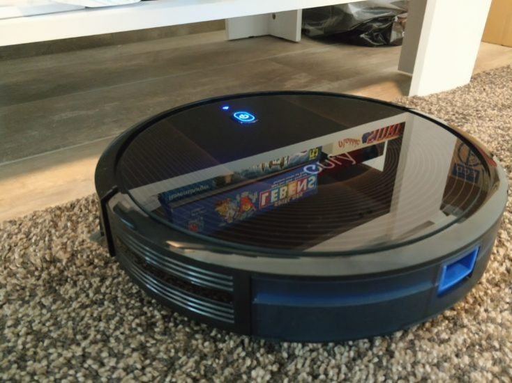 Anker eufy RoboVac 30C Vacuum robot Dimensions Height
