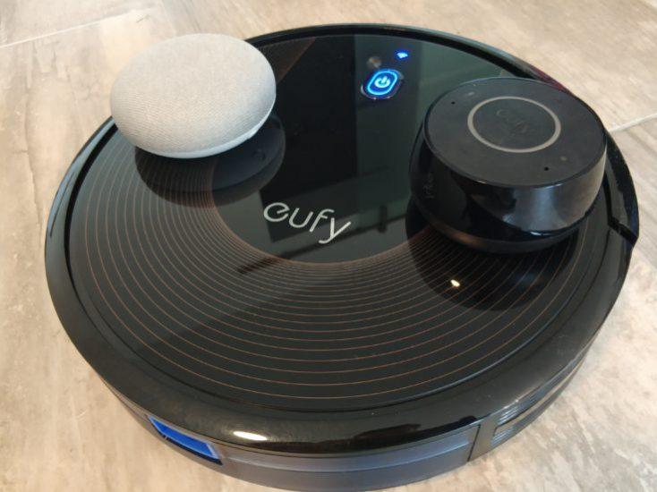 Anker eufy RoboVac 30C vacuum robot voice control Alexa Google Home