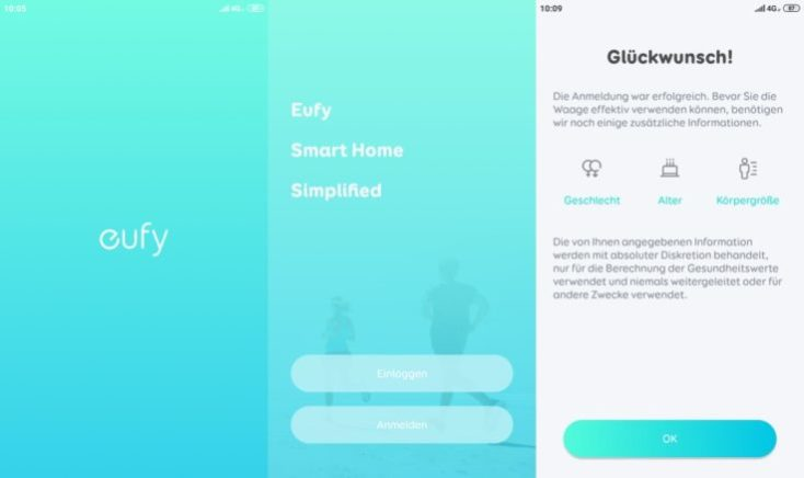 Anker eufy Smart Scale P1 Personal scale App eufylife Registration