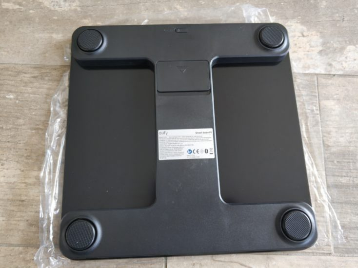 Anker eufy Smart Scale P1 Personal scale bottom side