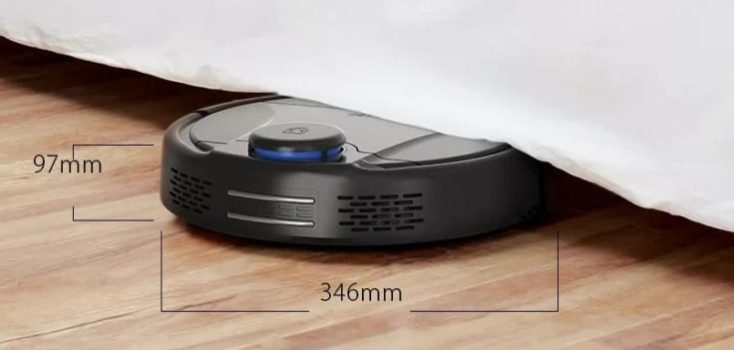 BlitzWolf BW-VC1 Vacuum robot Dimensions