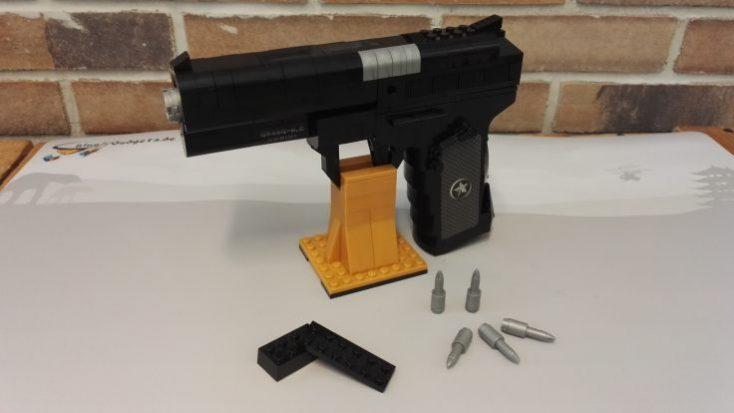 Building blocks pistol