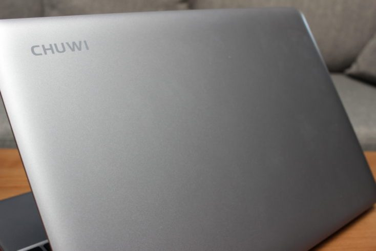 CHUWI HeroBook Display Backside