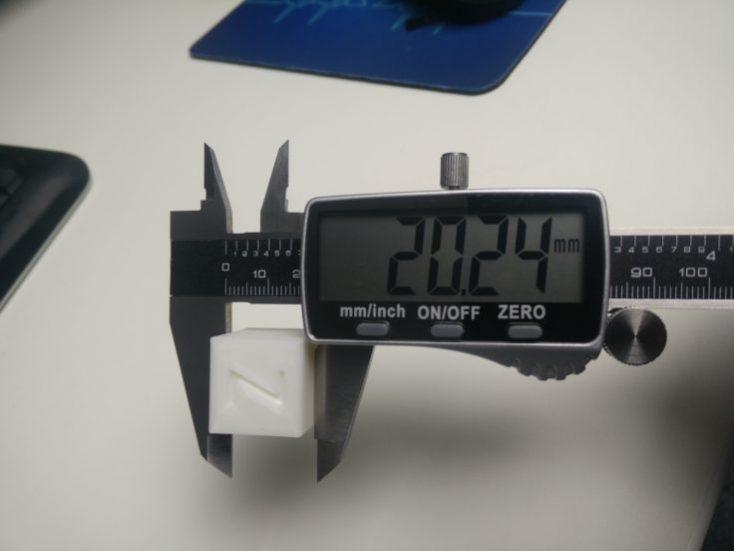 CR-10S Pro Calibration Cube