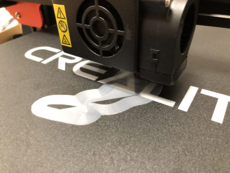 CR-10S Pro First layer